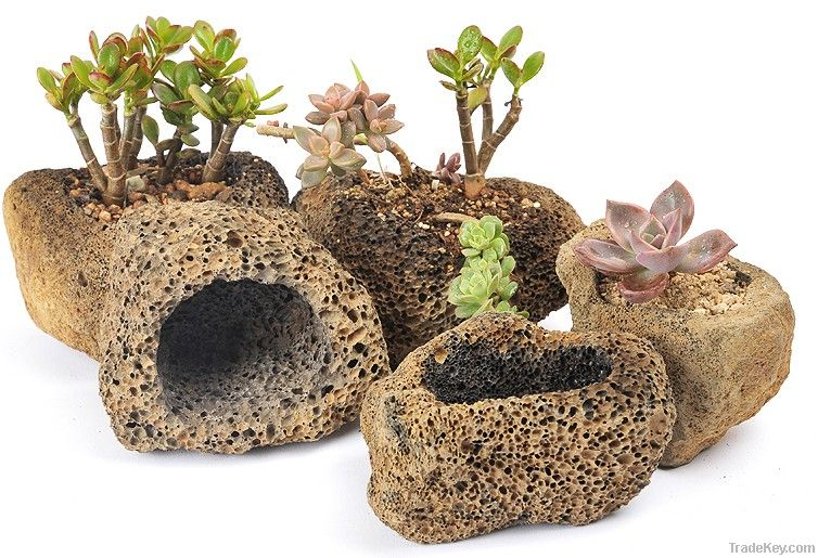 Natural Stone Home Flower Pot