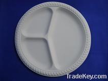 Biodegradable disposable Corn starch plates