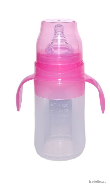 silicone baby feeding bottle