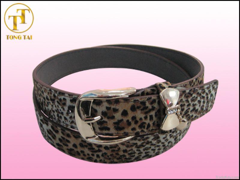 Ladies Fashion Leopard Print Belts Womens