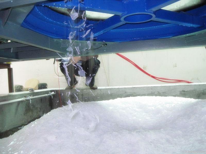 Flake ice machine, ice flake maker, ice machine, ice maker