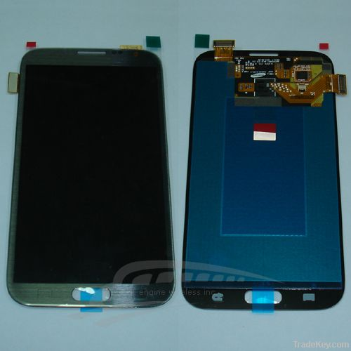 mobile phone lcd for galaxy note2 lcd screen digitizer