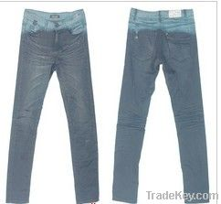 Wholesale price of woman, man jeans in stock
