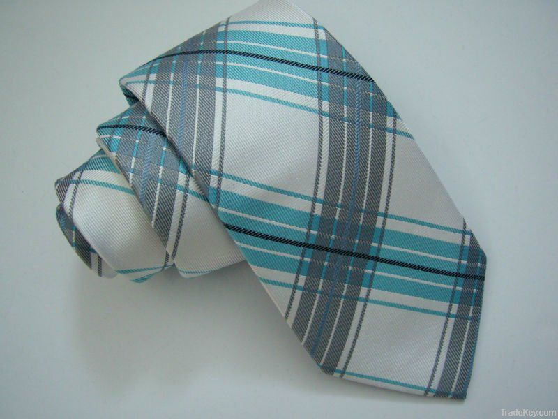 Silk jacquar necktie