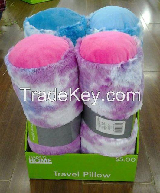 New fashion microbead travel pillow/U-shape pillow/with speaker/massage/memory pillow