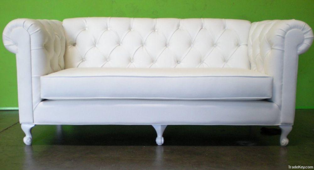 Chesterfield Tufted Sleeper Sofa