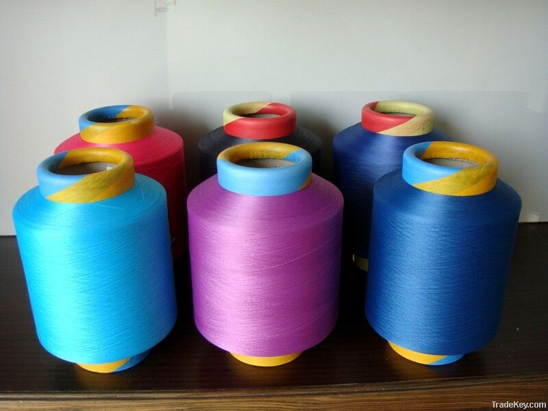 Spandex coated yarn
