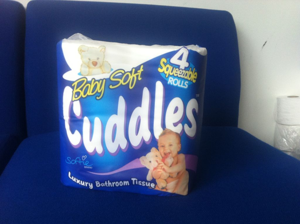 Baby soft Cuddles 4 Pack and Lilly Soft loose 36 pack - Toilet Rolls