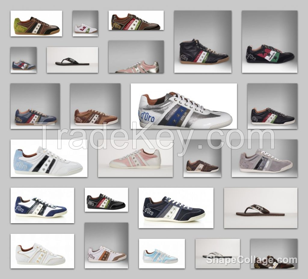 Italian shoes stock