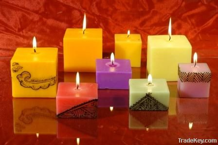 Decorative Wax Candle