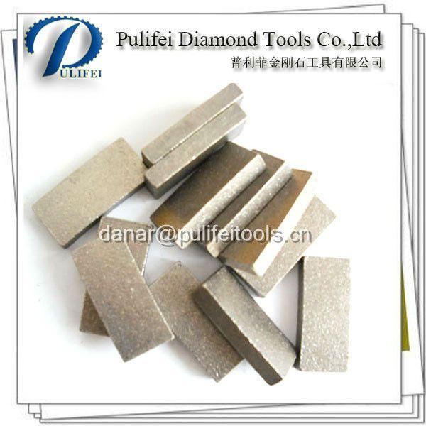Granite Diamond Segment For Granite Segmented Saw Blade