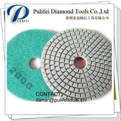 Resin Bond Granite Polishing Pad For Slab Wet Polishing