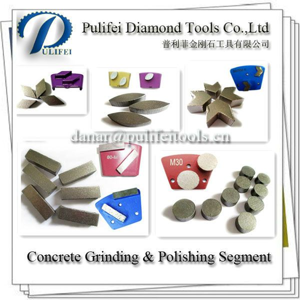 Diamond Segment For Concrete Floor Grinding