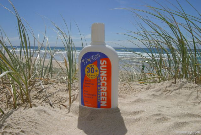 Tropicare Sunscreen SPF30+ 4hr Water Resistant 250g