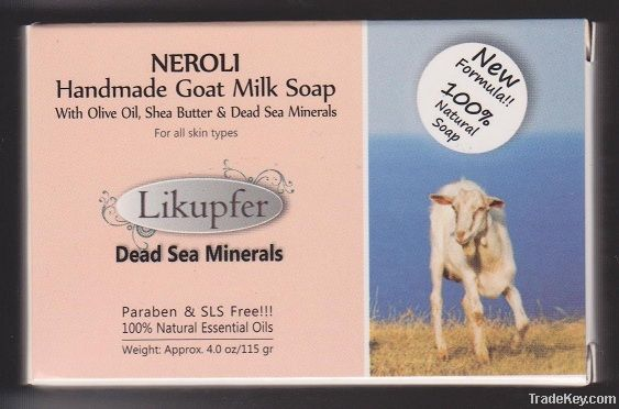 Handmade Goat Milk Soaps With Dead Sea Minerals