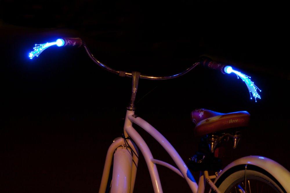 Handlebeams Fiberoptic Bike Handle Streamers