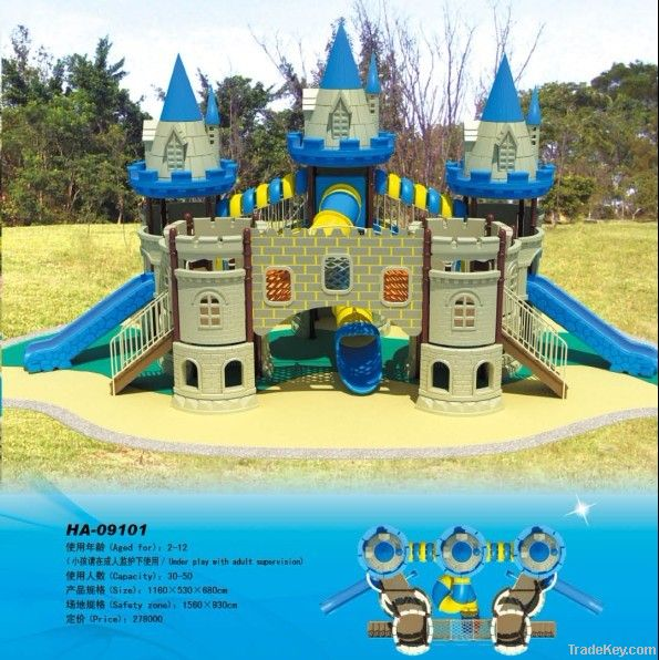 Castle outdoor playgorund
