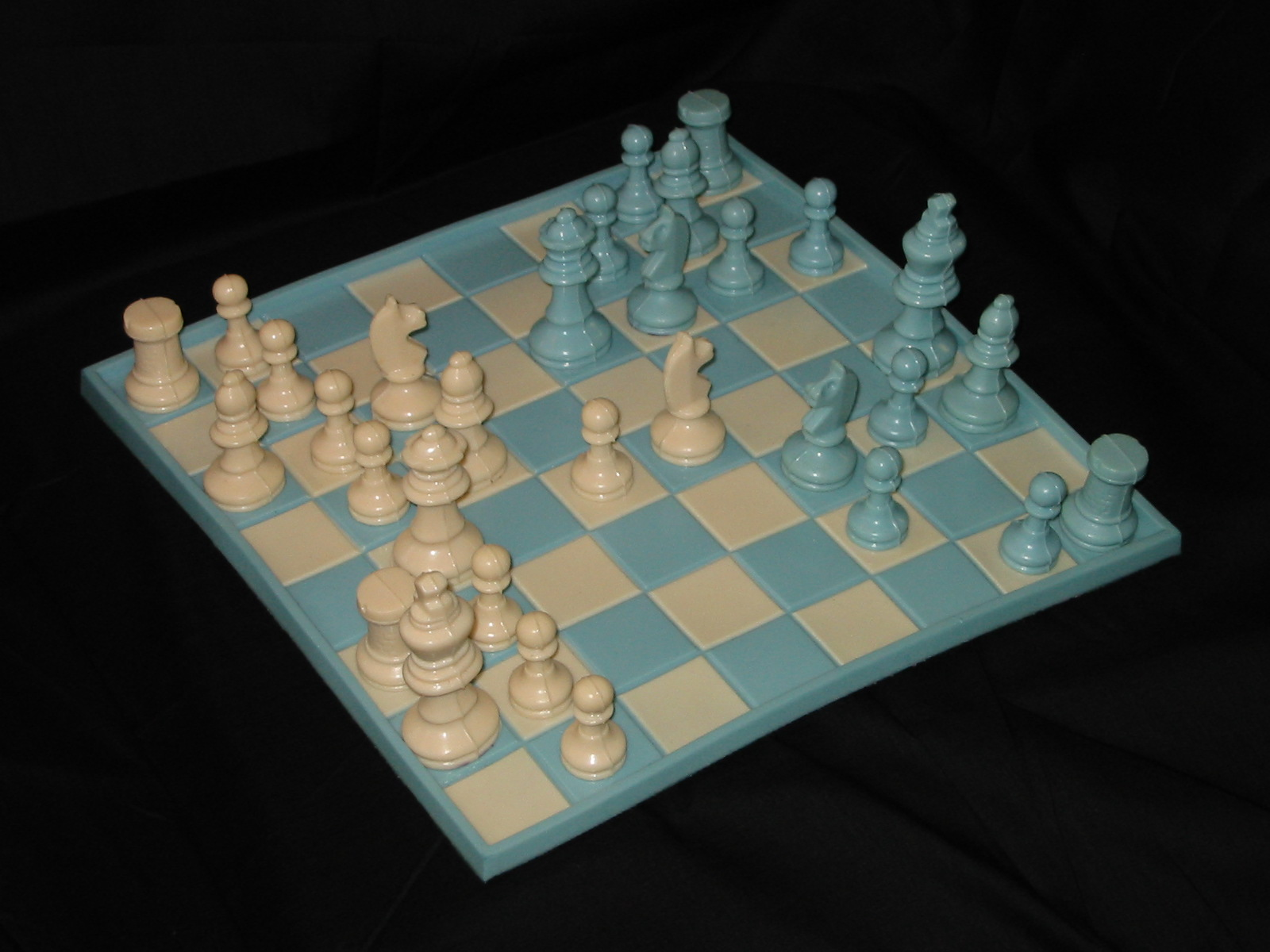 Soft Rubber Chess Set