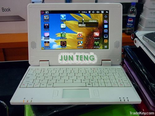7 inch android hot notebook