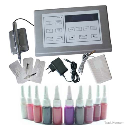 Latest Permanent Makeup Kits with LCD Power Supply