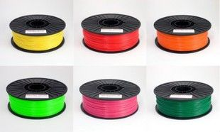 suppy ABS/PLA HIPS, PC, Nylon 3d   filament