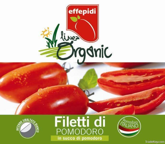 Canned Italian Tomatoes organic