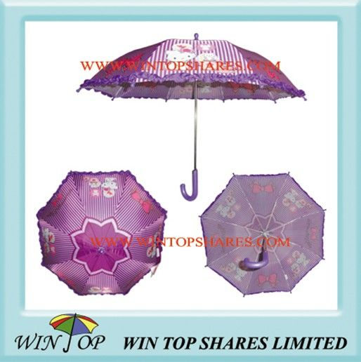 Heat Transfer Printing Children Umbrella
