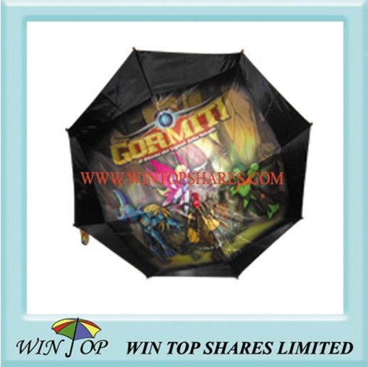 Special Authorized Kid Umbrella with Gormit Logo