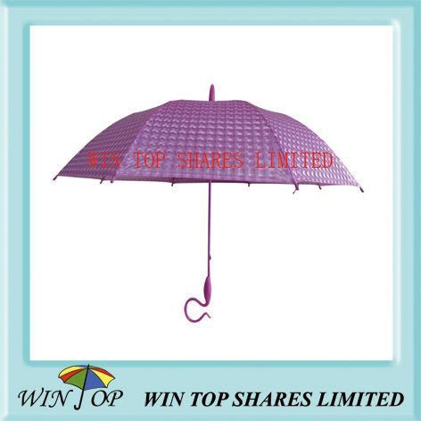 23 inch Fashion Stick 3D Poe Umbrella (WTP087)