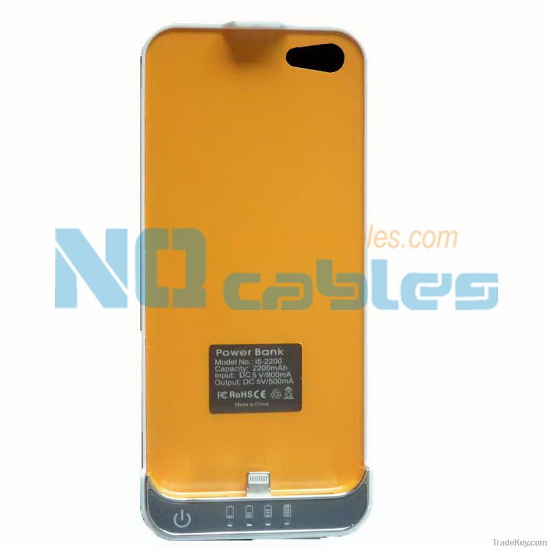 2200mAh Backup Battery for iPhone 5
