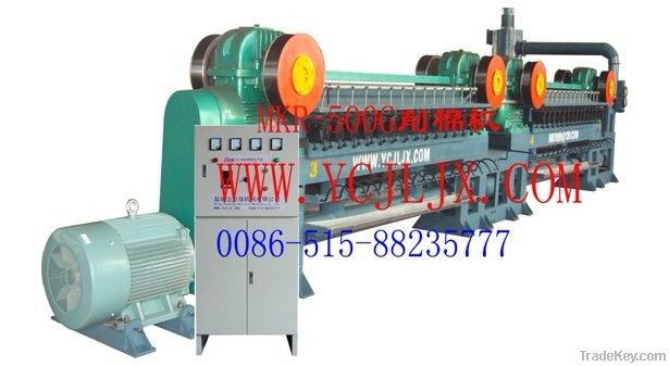 Steel wool roll making machine