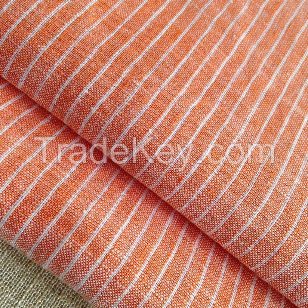 Yarn-dyed linen Fabric