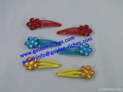 Fashion hair clips for kids(flower)