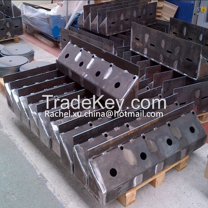 Customized Drawing Made Steel Fabrication Companies For Welding