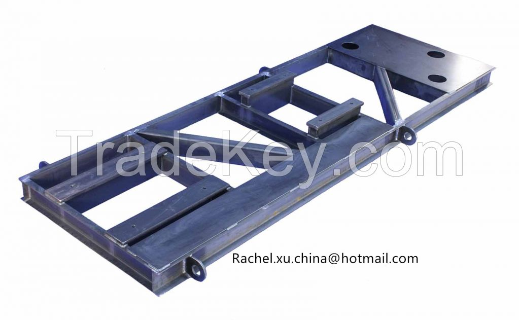 Customized Light Steel Structure Fabricating Work Service