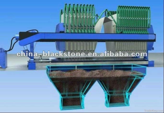 Hydraulic pressure filter press machine