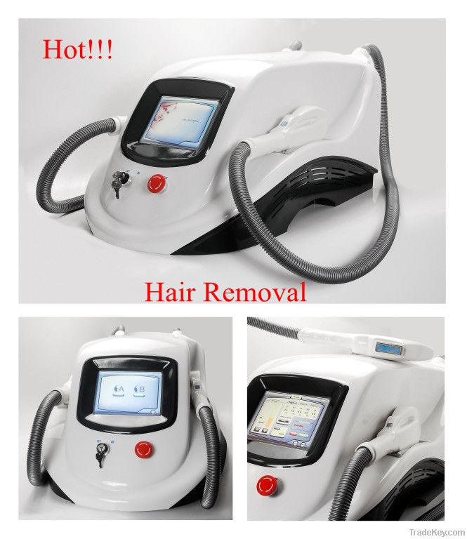 Easy IPL hair removal