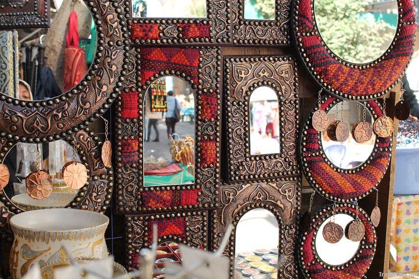 Handmade decorative mirrors