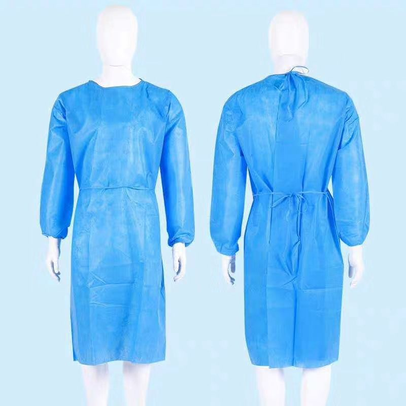 Disposable reinforced gown high quality  for Surgical , medical use