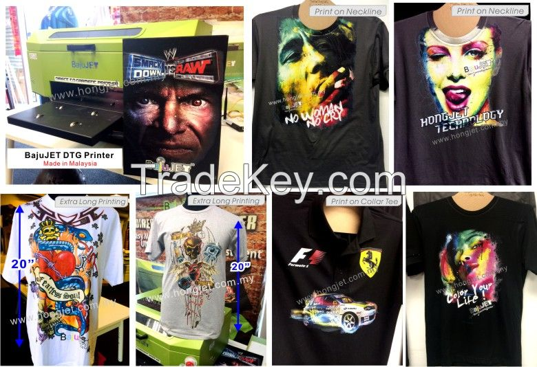DTG Printer, Direct to Garment Printer , T-shirt printing