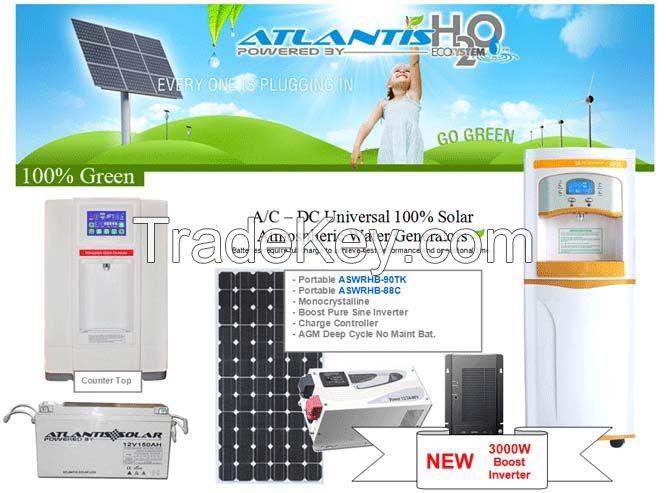 Atlantis H2O Solar Atmospheric Water Generator