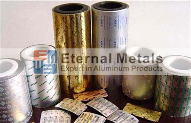 Blister foil 8011 H18 (press through packaging PTP)
