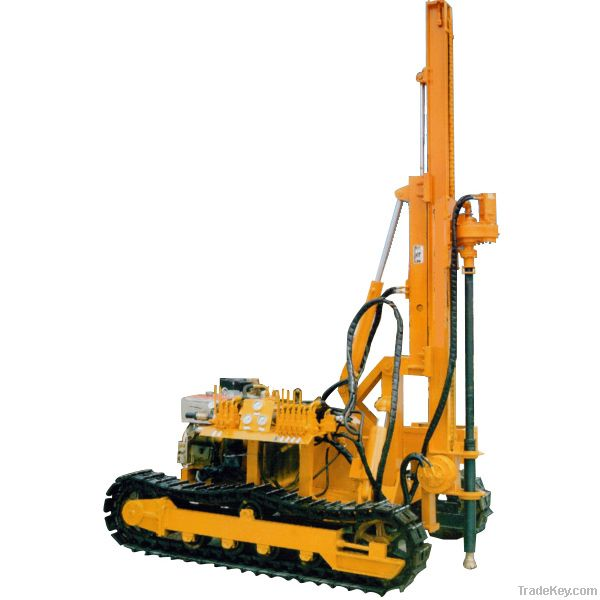Crawler Mountained Drilling Rig
