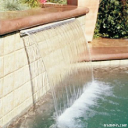 Sunblade Waterfall (Sheer Descent)