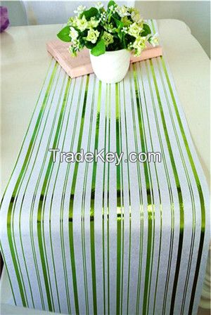 colorful sparkling nonwoven table runner/table linen