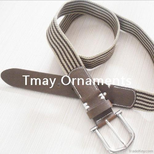 2012 Fashion stretch fabric belts