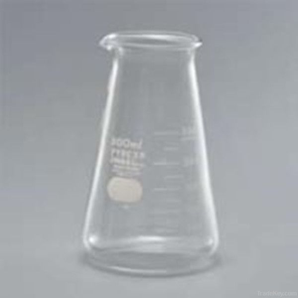 Conical beaker Erlenmeyer with graduations