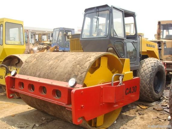 Used Dynapac vibrating road roller