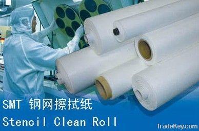 SMT stencil roller