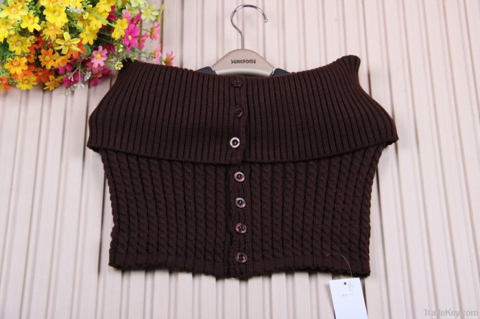 2012 Fashion knitted winter lady neck warmer(TY-181#)